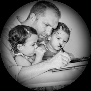 Will Austin Herbert and Children Hannah and Hayden